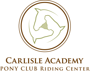 Carlisle Pony Club riding center logo